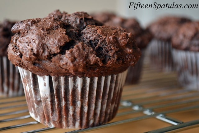 chocolate muffins berry chocolate muffins double chocolate chip ...