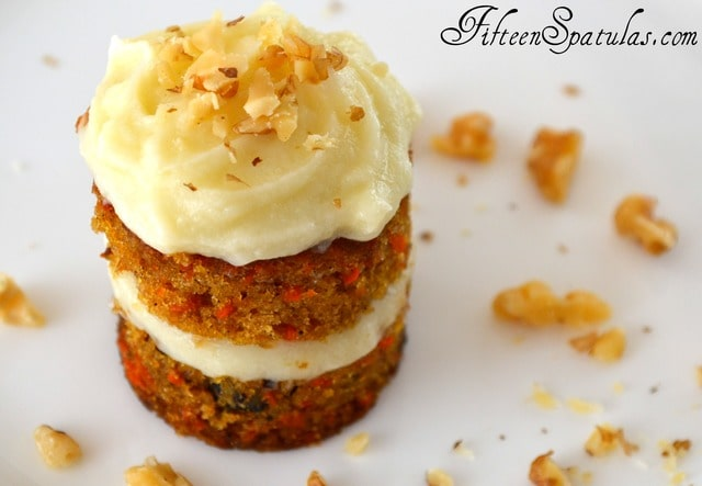 Petite Carrot Cakes with Whipped Mascarpone Frosting – Fifteen ...