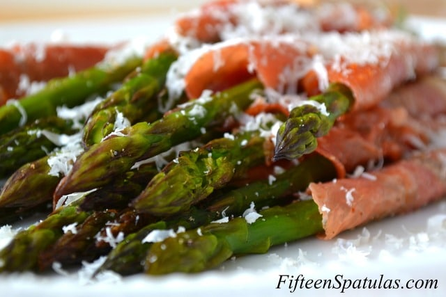 crispy prosciutto wrapped asparagus asparagus wrapped in crisp