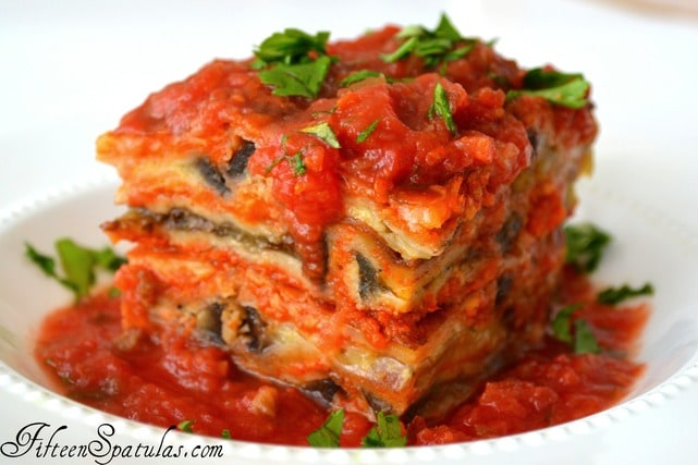 Eggplant Parmesan for Pinterest