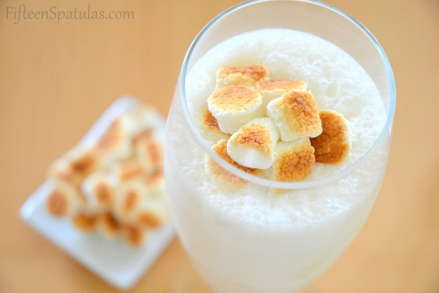 ... nothing wrong with a Toasted Marshmallow & Malted Ice Cream Shake